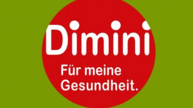 "Logo der Initiative ""Dimini"" (Screenshot); © docevent GmbH consulting + events zu besser essen und bewegung"