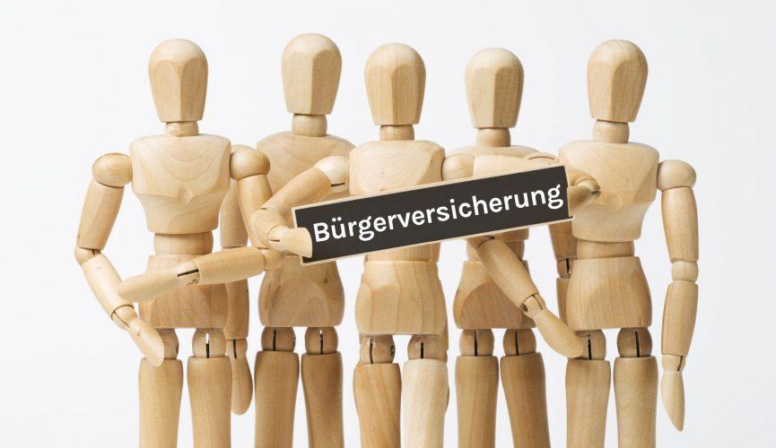 Bürgerversicherung (Symbolbild)