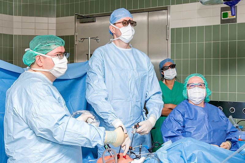Operation risiken gebärmuttersenkung Gebärmutterentfernung (Hysterektomie)
